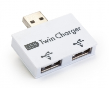 Compact Dual USB Charging Adapter (DC5V)