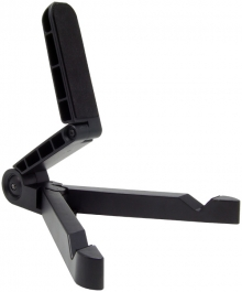 Compact Fold-Away Universal Tablet Travel Stand (Supports iPad, Android & PC Tablets)
