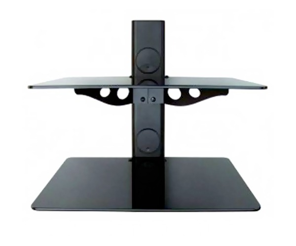 Double Wall Mounted Glass Shelf (15Kg)