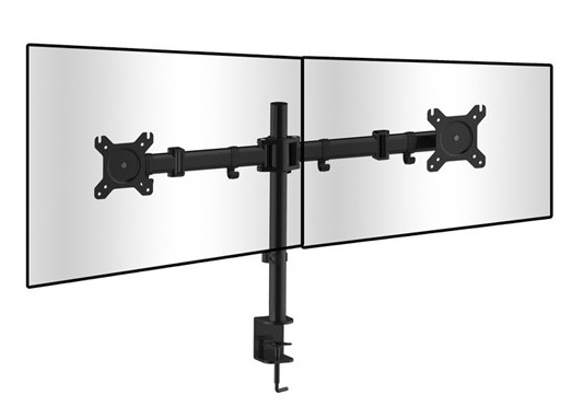 Dual Screen Desk Mount Bracket (2x 8Kg) (Photo )