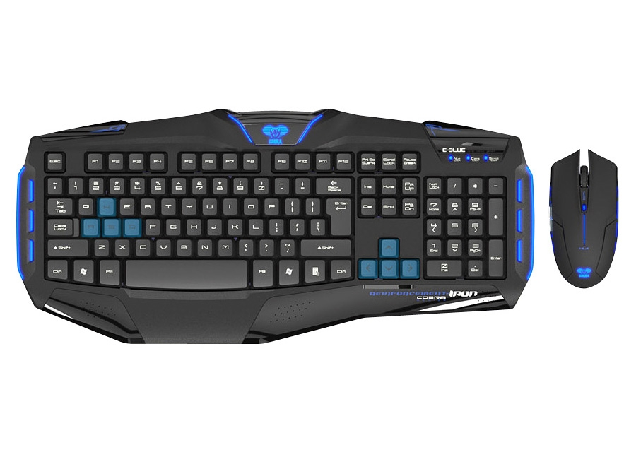 E Blue Cobra Reinforcement Gaming Keyboard Amp Mouse Combo