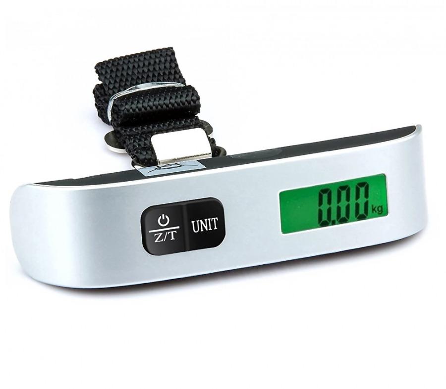 Electronic Travel & Luggage Scale - 50kg (Photo )