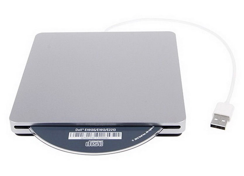 External Optical Drive / CD & DVD Drive (Read, Write, Rewrite) (Win & Mac)