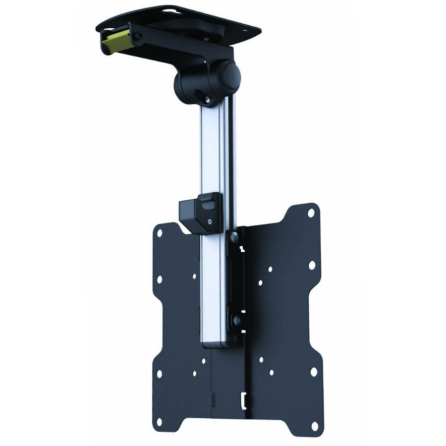 Fold-Away LCD TV Ceiling Mount (20kg Black)