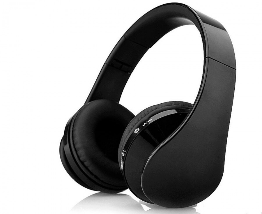 Folding Stereo Bluetooth Headset with Optional 3.5mm Input