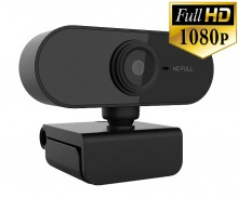 Full HD 1080p USB Webcam (Built-in Microphone - PC & Mac)