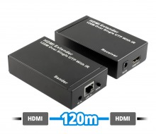 HDMI Extender Over Single CAT6 Network Cable (1080p up to 120m with IR Extender)
