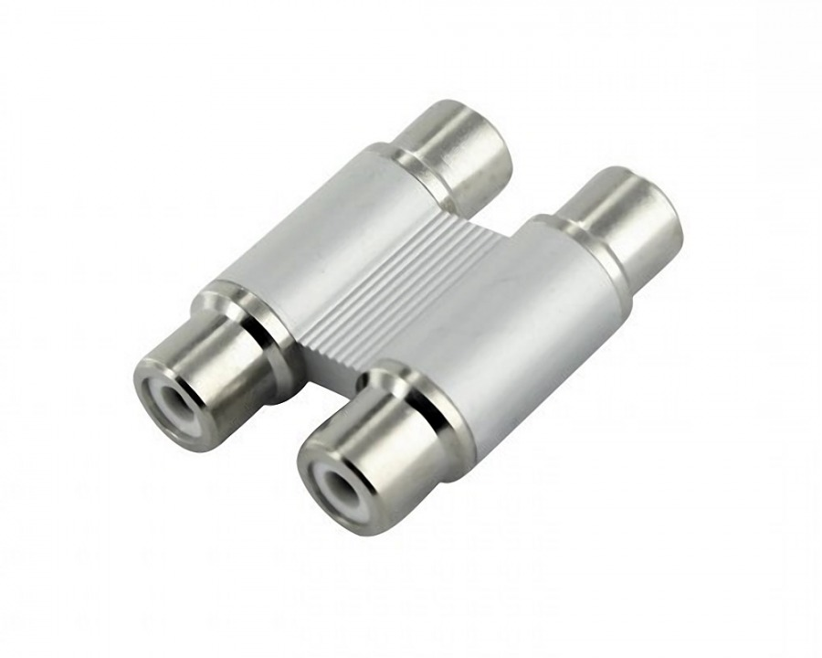 High-end 2RCA Coupler (Female to Female Adaptor)