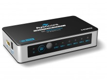 Avencore Platinum 5-Port Ultra HD 4K/60Hz HDMI Switch (5x1 HDMI 2.0 Switch)