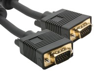 High-End 5M VGA Male to VGA Male 15 Pin Monitor Cable