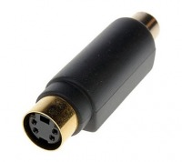 S-Video Coupler / Joiner (Female to Female) (Thumbnail )
