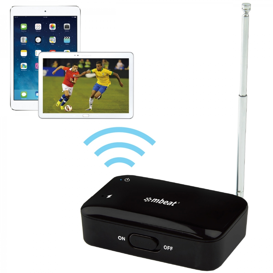 WiFi TV Free-to-Air Digital TV Tuner & PVR Recorder for iOS & Android