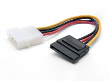 Internal Molex Power to Serial ATA Power Cable (SATA 2 / SATA 3 Compatible)