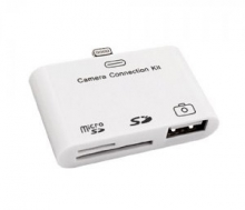 iPad Camera Connection Kit with Apple Lightning Connector (USB, SD, MicroSD)