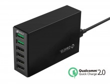 Orico 6-Port 2.4A Desktop USB Charging Station with QC 2.0
