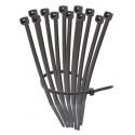 UV Stabilised Black Cable Zip Ties - 200mm x 2.5mm (100 Pack)