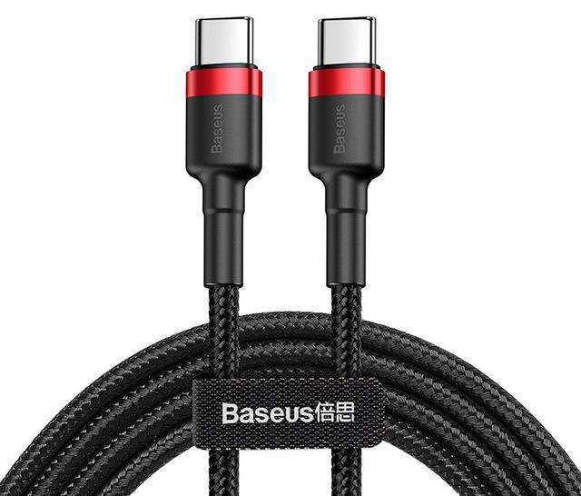 Premium 2m USB-C 60W Cable (Black) (Photo )