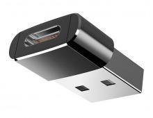 Premium Aluminium USB Type-C (Female) to Type-A (Male) Adapter (Thumbnail )
