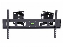 Premium Corner TV Wall Mount with Twin Dual-Pivot Arms (60Kg) (Thumbnail )