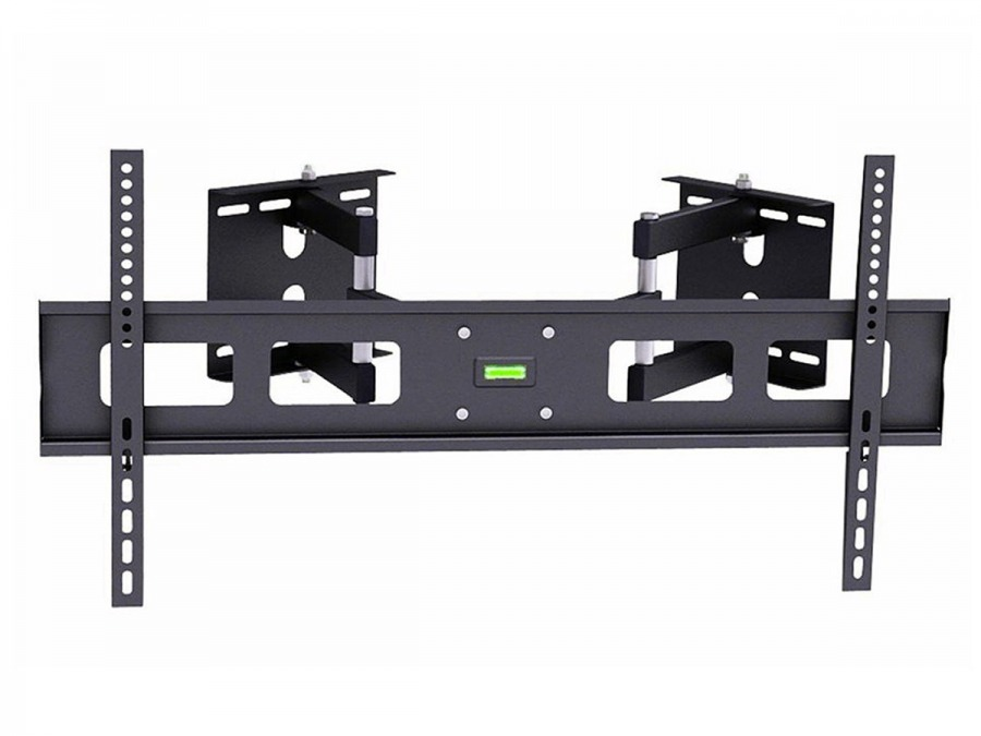 premium corner tv wall mount with twin dual pivot arms 60kg free shipping. Black Bedroom Furniture Sets. Home Design Ideas