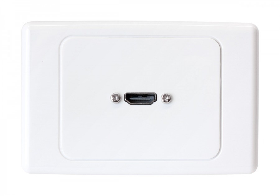 premium home theatre hdmi wall plate