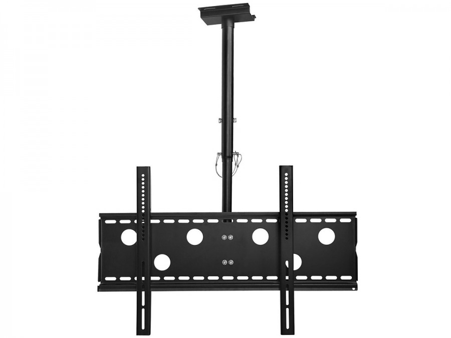 Premium LCD & Plasma TV Ceiling Mount Bracket - 80kg (Black)