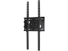 Premium LCD & Plasma TV Low Profile Portrait Wall Mount Bracket - 70kg (Black)