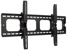 Premium LCD & Plasma TV Wall Mount Bracket with 15 Degree Tilt - 100kg (Black)