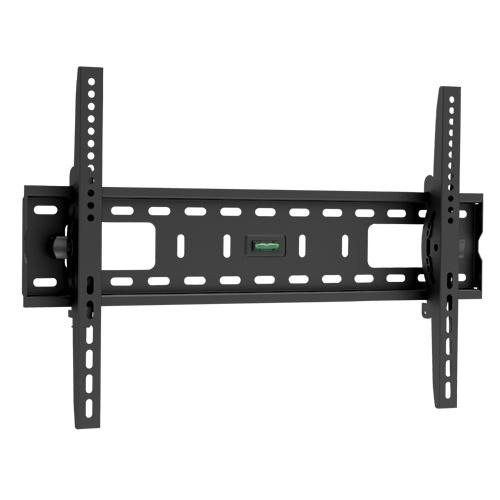 Premium Low-Profile TV Wall Mount Bracket with 10 Degree Tilt - 75kg (Black)