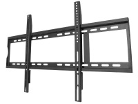 Premium Low-Profile TV Wall Mount Bracket - 100kg (Black)