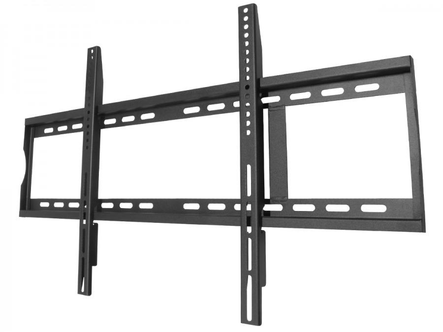 Premium Low-Profile TV Wall Mount Bracket - 100kg (Black)