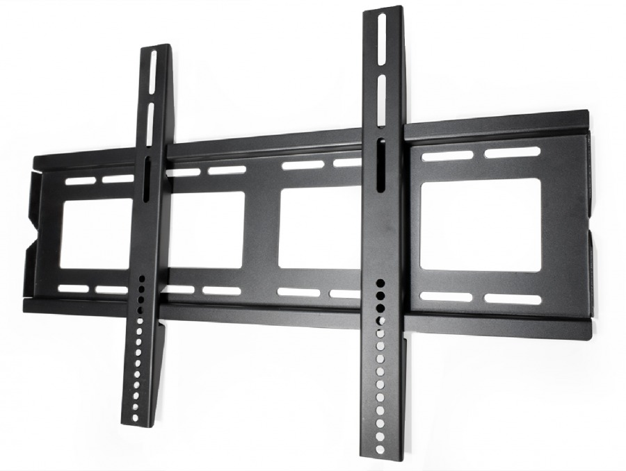 Premium Low-Profile TV Wall Mount Bracket - 75kg (Black) (Photo )