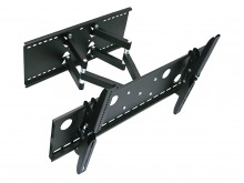 Premium Universal LCD & Plasma TV Wall Mount Bracket with Dual Arm, Dual Pivots (100kg)