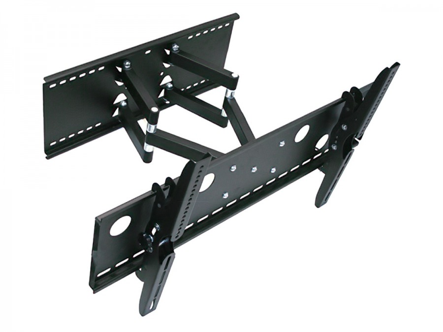 Premium Universal LCD & Plasma TV Wall Mount Bracket with Dual Arm, Dual Pivots (100kg)