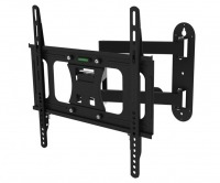 Premium Universal TV Wall Mount Bracket with Extendable Dual Pivot Tilt Arms & Tilt (30kg)