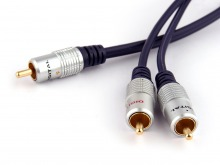 Pro Series 10m 1 RCA to 2 RCA Subwoofer Y-Cable (Thumbnail )