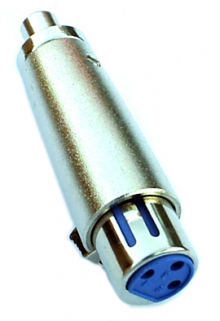 Pro Series XLR (Female) to RCA (Female) Adapter (Photo )