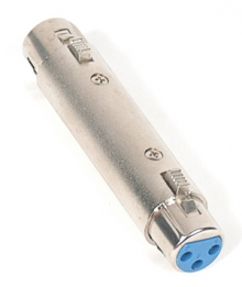 Pro Series XLR (Female) to XLR (Female) Coupler (Photo )