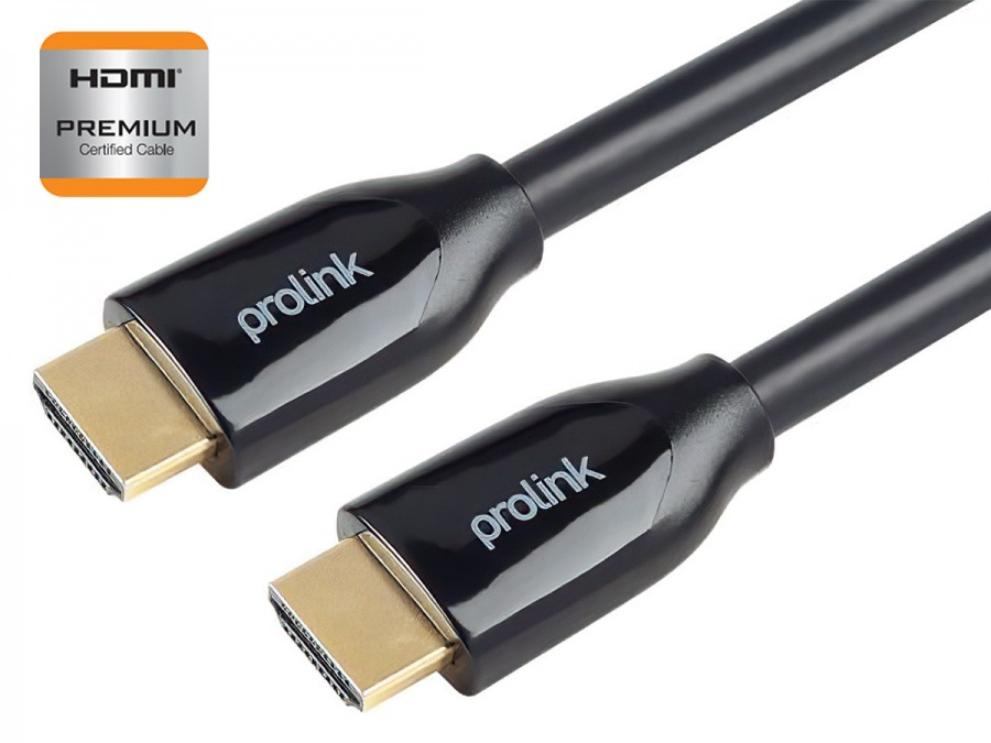 Prolink 1m Premium Certified HDMI Cable (Supports Ultra HD 4K@60Hz HDMI 2.0) (Photo )