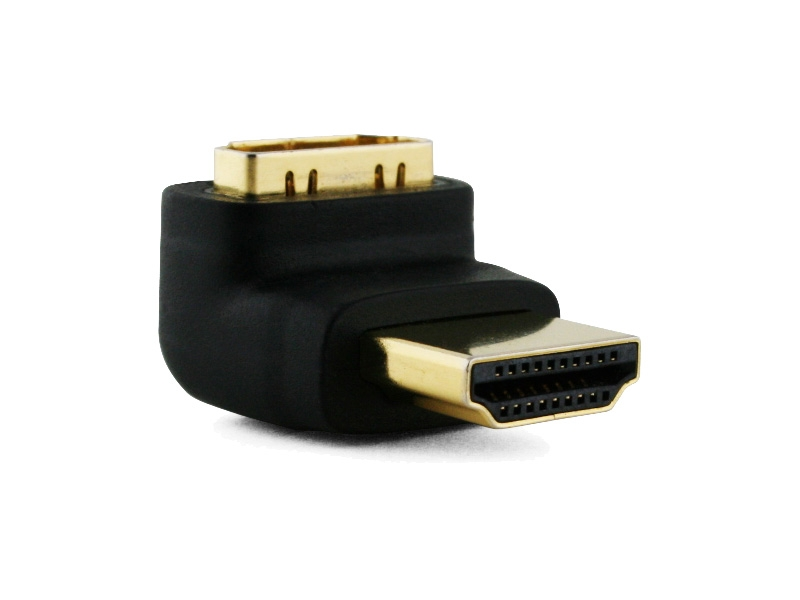 Right Angled HDMI Cable Adapter (UP)