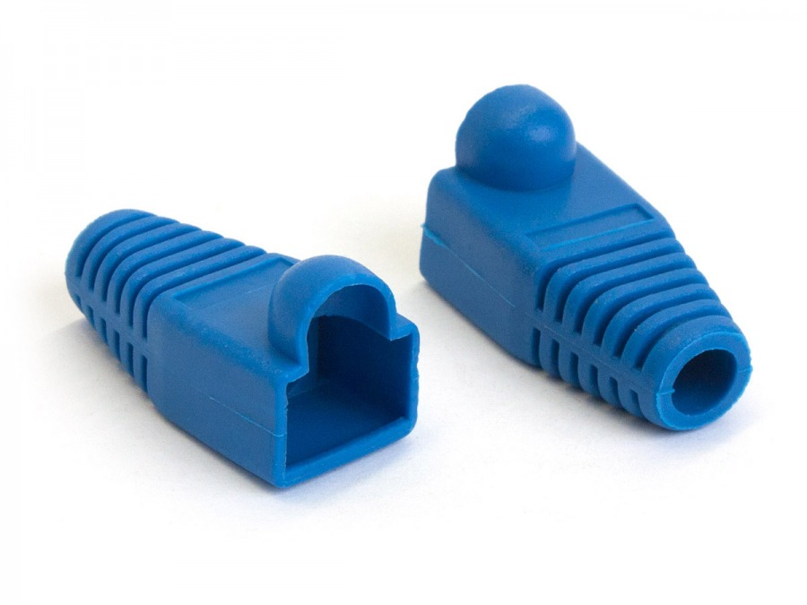 RJ45 Boot Caps 100pk (8P8C / CAT5 / CAT6)