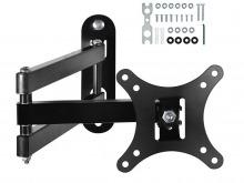 Single Arm, Dual Pivot Monitor Wall Mount (15kg, VESA 75-200) (Thumbnail )