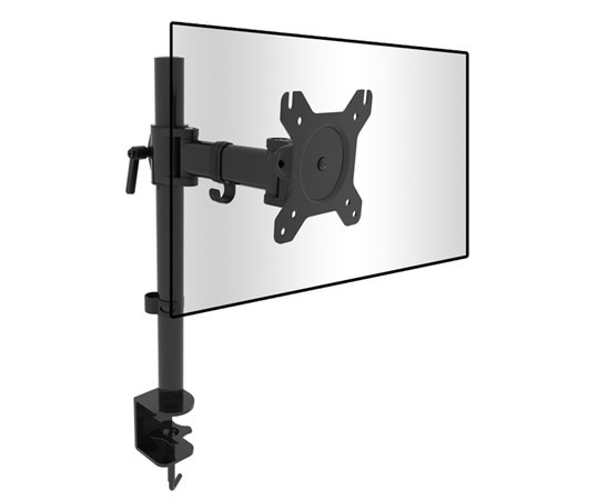 Single Screen Desk Mount Bracket (8kg) (Photo )