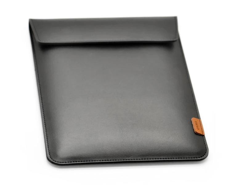 "Universal 13"" Laptop & Tablet Sleeve (Faux-Leather + Mircofibre Lining) (Photo )"