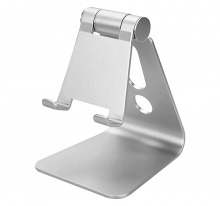 Universal Aluminium Phone & Tablet Stand (for Small Tablets & Phones)