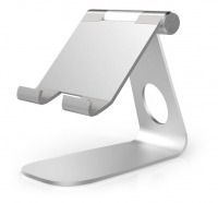 Universal Aluminium Tablet Stand (for Tablets & Large Phones)