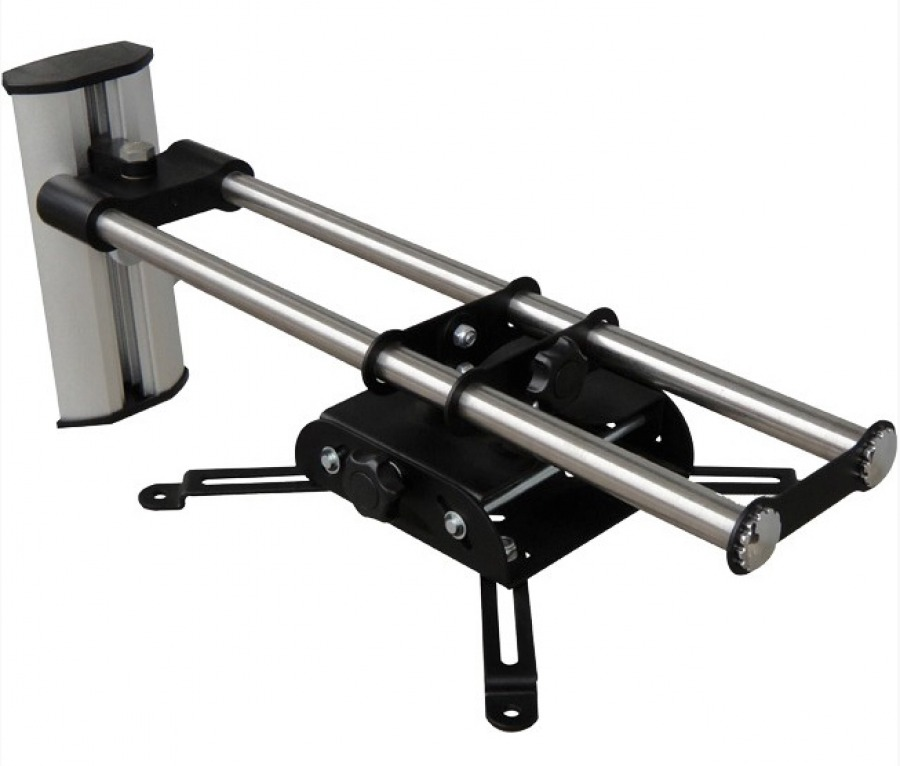 Universal Projector Wall Mount on Rails (10kg) (Photo )