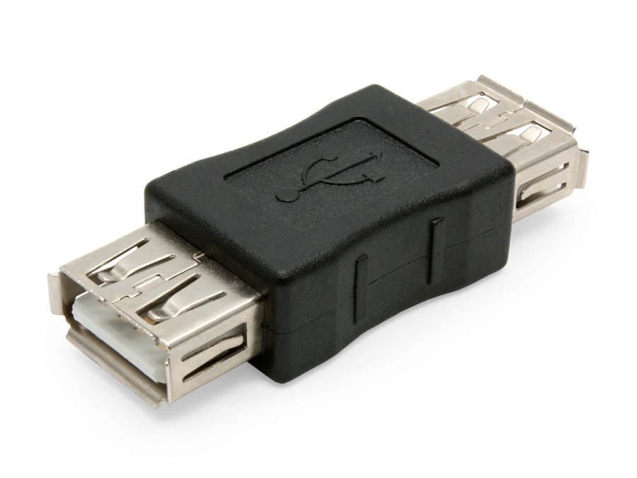 USB Adaptor A-Female to A-Female (USB Coupler) (Photo )