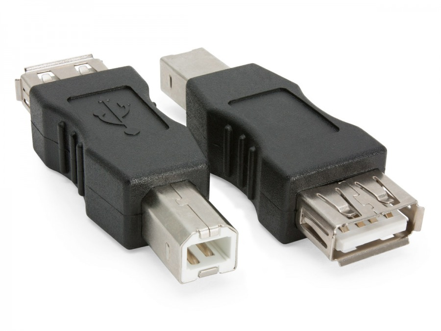 USB Adaptor B-Male to A-Female