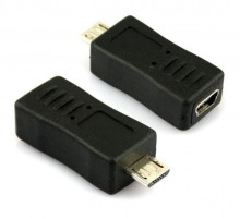 View Product: USB Adaptor Mini-B 5-Pin Female to Micro USB Male